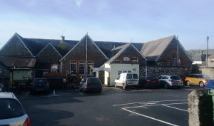 South Brent Old School Community Centre car park